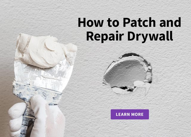 How to Patch and Repair Drywall