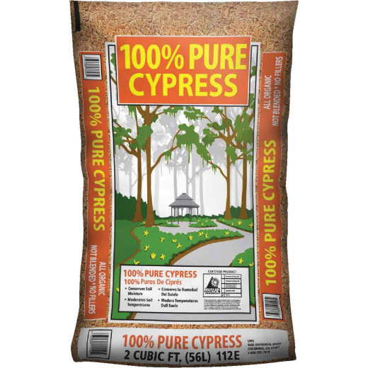 Landscape Select 2 Cu. Ft. Tan Cypress Mulch
