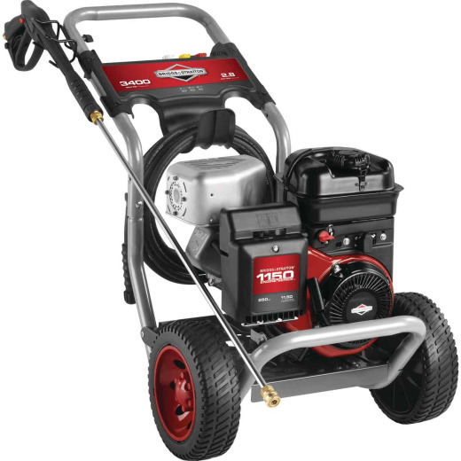 Briggs & Stratton 3400 psi 2.8 GPM Gas Pressure Washer
